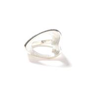 "NASTOYS/ナストイズ  「 Mid - Century Flame Ring "" SILVER "" 」  925製シルバーリング"