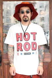 WEIRDO/ウィアード  「HOTROD TAIL- S/S T-SHIRTS」  クルーネックティーシャツ