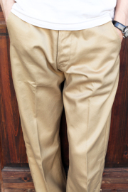 TROPHY CLOTHING/トロフィークロージング  「40 Civilan Trousers」  チノトラウザーズ