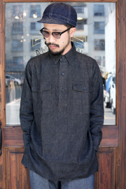 BLACK SIGN/ブラックサイン 「Indian Ink French Field Shirt」  フレンチフィールドシャツ
