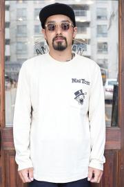 NASTOYS/ナストイズ  「Nasty Toys Pocket L/S T - SHIRTS」  ポケットロングシリーブティーシャツ