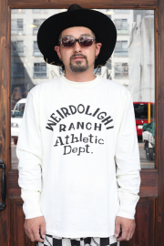 WEIRDO/ウィアード   「WEIRDOLIGHT RANCH -  L/S  T-SHIRTS」   L/S ティーシャツ