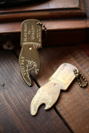 GLAD HAND/グラッドハンド  「YOU PAY SPINNER KEY FOB」 YOU PAY キーホルダー