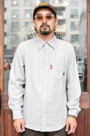 WEIRDO/ウィアード   「CLASSIC RAT - L/S POINT COLLAR SHIRTS」   オックスフォードシャツ