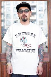 "RUM ART WORKS × AMERICAN WANNABE 「 Oriental  ""GAVEL"" S/S TEE 」  プリントS/Sティーシャツ"