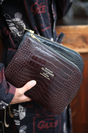 PORTER×GLAD HAND/ポーター×グラッドハンド  「GH - BELONGING CLUTCH BAG」  レザークラッチバッグ