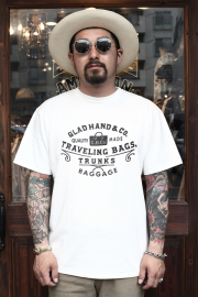 GLAD HAND/グラッドハンド  「ADVERTISING BAGGAGE - T-SHIRTS」 アドバタイジングティー