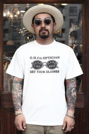 GLAD HAND/グラッドハンド  「ADVERTISING GLASSES - T-SHIRTS」 アドバタイジングティー