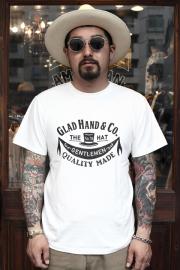 GLAD HAND/グラッドハンド  「ADVERTISING HAT - T-SHIRTS」 アドバタイジングティー
