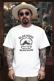 GLAD HAND/グラッドハンド  「ADVERTISING SHOES - T-SHIRTS」 アドバタイジングティー