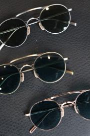 GROOVER/グルーバー    「LOT.28」    メタル製ラウンド眼鏡
