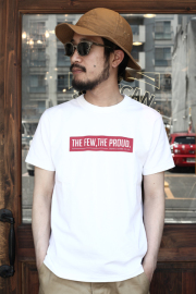 TROPHY CLOTHING/トロフィークロージング  「Slogan Open End Crew Tee」  プリントTシャツ