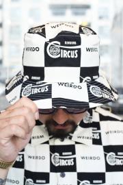 WEIRDO/ウィアード  「 RINGING - BUCKET HAT」 チェッカーバケットハット