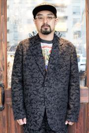 The Stylist Japan/ザスタイリストジャパン   「 DAMASK JQ  JACKET 」   リーフ柄ジャケット