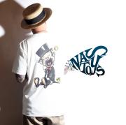 NASTOYS × AMERICAN WANNABE 「 Nasty Toys S/S T-SHIRTS - Air Brush -」 エアブラシS/S Tシャツ