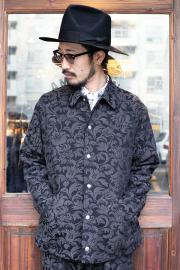 The Stylist Japan/ザスタイリストジャパン   「 DAMASK JQ COACH JACKET 」   リーフ柄コーチジャケット