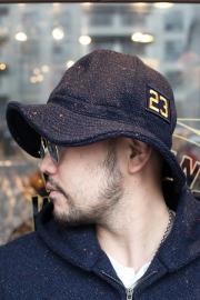 WEIRDO/ウィアード  「 JUST LOOKING - WOOL HAT 」 カラーネップメルトンハット