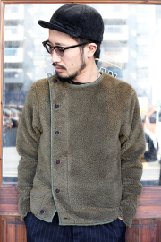 BLACK SIGN/ブラックサイン 「 Swindler Boa Jacket 」 スウィンドラーボアジャケット
