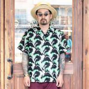 NORTH NO NAME/ノースノーネーム 「 HAWAIIAN LINEN SHIRT 」 ハワイアンリネン半袖シャツ