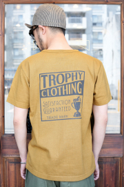 TROPHY CLOTHING/トロフィークロージング  「Box Logo OD Tee」  プリントTシャツ