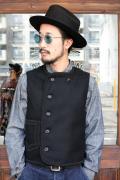 BLACK SIGN/ブラックサイン  「19th Century Amish Laced Vest」  アーミッシュベスト