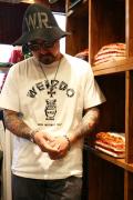 WEIRDO/ウィアード  「WEIRDO INITIALS - S/S T-SHIRTS」  プリントTシャツ
