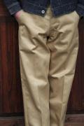 TROPHY CLOTHING/トロフィークロージング  「40 Civilan Pants」  チノパン