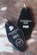 GLAD HAND/グラッドハンド   「GH HOTEL - KEY FOB」    キーホルダー