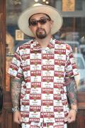 WEIRDO/ウィアード   「WRD CANS - S/S SHIRTS」   オリジナルコットンブロードシャツ