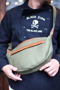 BLACK SIGN/ブラックサイン  「Military Cord Shoulder Bag」  ショルダーバッグ