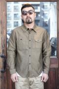 TROPHY CLOTHING/トロフィークロージング  「Moleskin Machine Age L/S Shirts」  モールスキンマシーンエイジシャツ