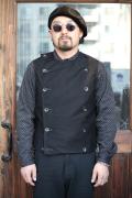 BLACK SIGN/ブラックサイン  「Double Breasted Swindler Vest」  スウィンドラーベスト