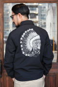 TROPHY CLOTHING/トロフィークロージング   「Magical Chief Warm Up Jacket」  60/40クロスコーチジャケット