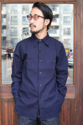 BLACK SIGN/ブラックサイン  「8_oz Denim Working Shirt」  デニムワーキングシャツ