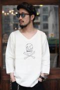BLACK SIGN/ブラックサイン  「Ritual Skull BS-Lodge Shirt」  メディカルシャツ