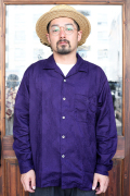 The Stylist Japan/ザスタイリストジャパン 「OPEN COLLAR PAISLEY LONG SLEEVE SHIRT」  オープンカラーペイズリーシャツ