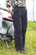 TROPHY CLOTHING × AMERICAN WANNABE  「 Dirt Denim Slacks」  ダートデニムスラックス