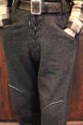 BLACK SIGN/ブラックサイン   「Athletic Sweat Pants」  フロントレースアップパンツ