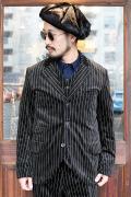 BLACK SIGN/ブラックサイン  「Nobel Velveteen Butler Jacket」 ベルベットバトラージャケット