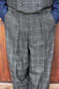 BLACK SIGN/ブラックサイン   「1930s Boston Check Dress Trousers」  ボストンチェックドレストラウザース