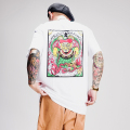 """RAT HOLE STUDIO × AMERICAN WANNABE Supported by PSYCHO WHEELS  「 """"Fu-Manchu """" S/S TEE 」 プリント S/S Tシャツ"""