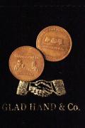 "GLAD HAND/グラッドハンド  「MEDAL ""10th ANNIVERSARY""」 10周年記念メダル"