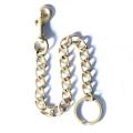 GLAD HAND/グラッドハンド 「CHAIN KEY RING」 真鍮製チェーンキーホルダー