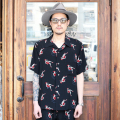 GANGSTERVILLE/ギャングスタービル 「THE STRIPSTER - S/S SHIRTS 」 オリジナル総柄シャツ