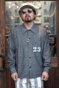 WEIRDO/ウィアード   「PADLOCKER -  SHIRTS」  プリズナーシャツ