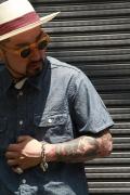 TROPHY CLOTHING/トロフィークロージング  「Harvest Shirts S/S」  シャンブレーシャツ