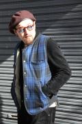 TROPHY CLOTHING/トロフィークロージング  「Mountain Wool Vest 」 ウールベスト