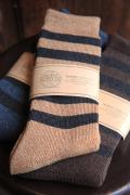 TROPHY CLOTHING/トロフィークロージング  「Border Boots Socks」  ブーツソックス