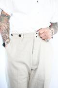 TROPHY CLOTHING/トロフィークロージング  「Swingin' Linen Trousers」 ヘヴィーリネンツイルトラウザース