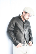 TROPHY CLOTHING/トロフィークロージング  「A-1 Deer Leather」  A-1レザージャケット